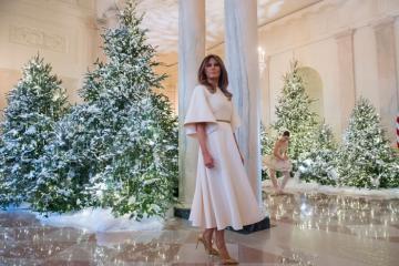 Nhà Trắng trang hoàng lộng lẫy trước dịp lễ Giáng sinh 2019