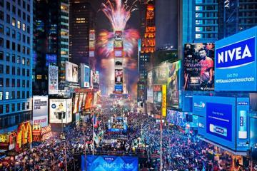 Du lịch Mỹ khám phá phong tục đón năm mới của người dân xứ sở cờ hoa