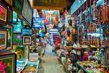 Du lịch Campuchia mua gì về làm quà?