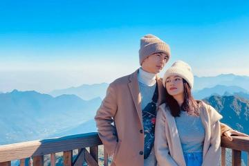 Sĩ Thanh du lịch Sapa mừng tuổi mới cùng Huỳnh Phương đầy lãng mạn