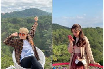 Cầu thủ Văn Toàn du lịch Đà Lạt cùng bạn gái nhưng nhất quyết không chịu chụp ảnh chung