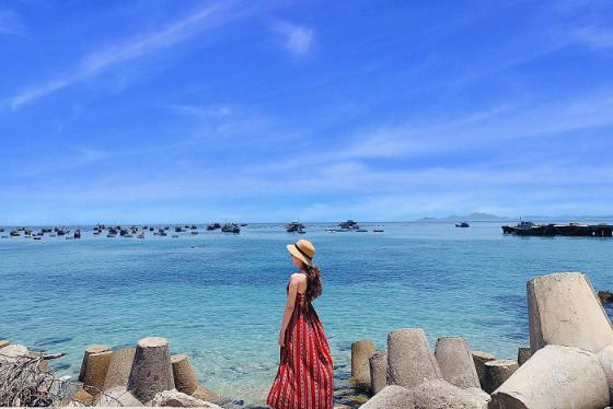 Du lịch Bình Định: Ngây ngất trước với vẻ đẹp tựa thiên đường của Cù Lao Xanh