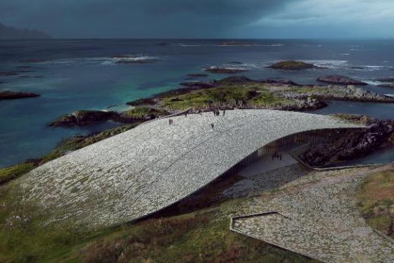 Na Uy sắp ra mắt tòa nhà The Whale độc đáo chỉ dành riêng cho 'sinh vật huyền thoại'