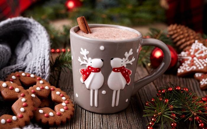 Hot chocolate món ăn Giáng sinh quen thuộc