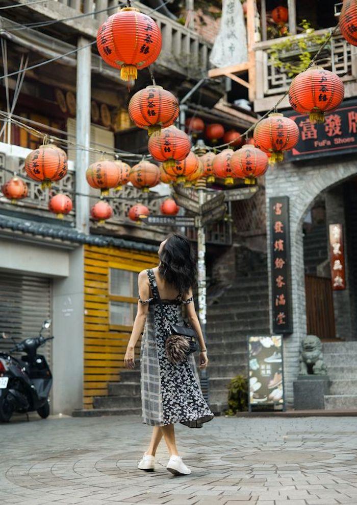 Du lịch Đài Loan đầu năm, ghé thăm Cửu Phần.