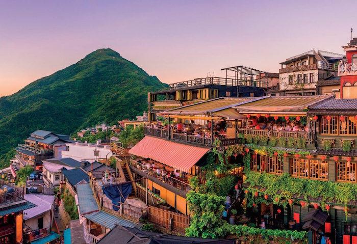 Du lịch Đài Loan đầu năm, ghé Đài Trung bình yên.