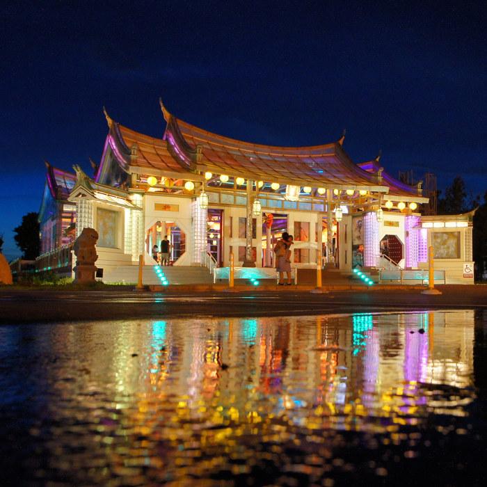Du lịch Đài Loan đầu năm, đừng quên đến đền Glass Matsu.