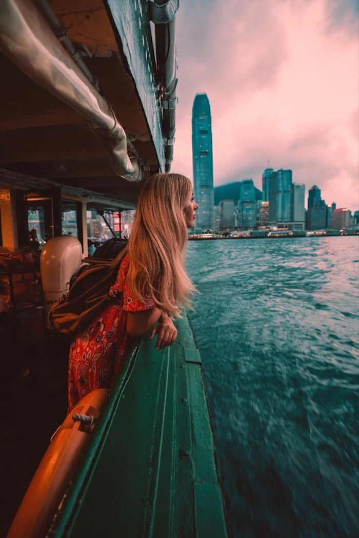 Du lịch Hồng Kông, ngắm hoàng hôn buông lơi trên xứ cảng thơm.