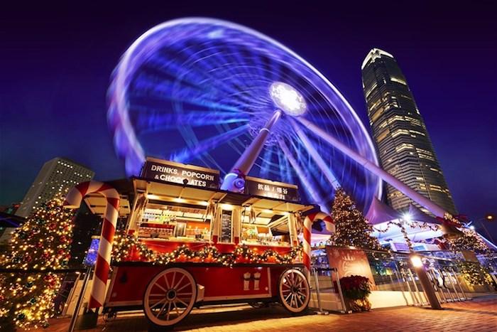 Lễ hội mùa đông ở Hồng Kông.