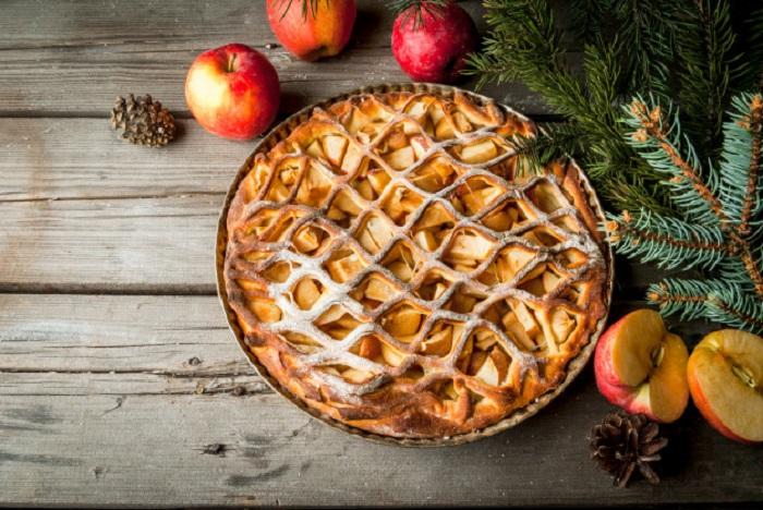 Apple Pie món ăn Giáng sinh quen thuộc