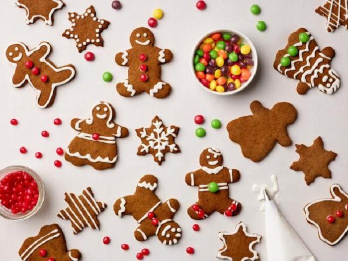 Gingerbread Cookie món ăn Giáng sinh ở Mỹ ngon hấp dẫn