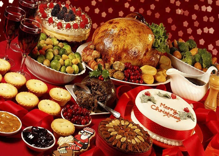 món ăn Giáng sinh ở Mỹ ngon cực phẩm
